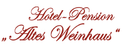 Hotel / Pension Altes Weinhaus Logo
